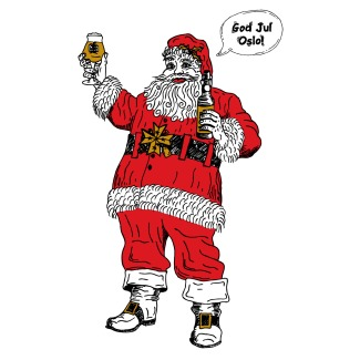God Jul Oslo Santa 2014- - Little Brother Brewery