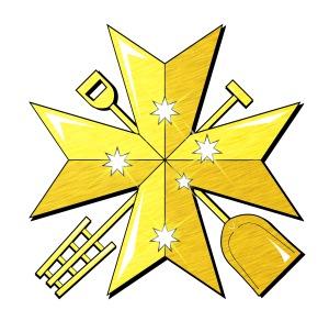 Little Brother Brewery Logo - Maltese Cross