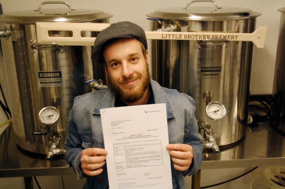 Little Brother Brewery has just received it's production license and is now Oslo's smallest commercial brewery.