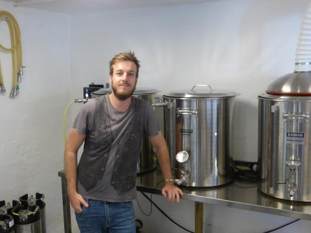 Cameron Manson - Co-founder and Head Brewer at Little Brother Brewery
