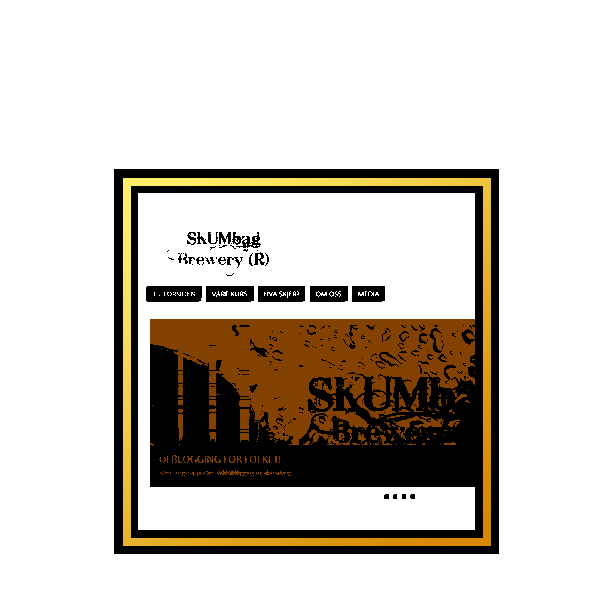 Skumbag Brewery drop by