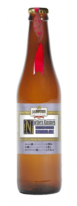 Northern Kinsmen Belgian Golden Strong Ale 50cl Bottle