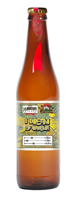 I Dream of Ipanema by Little Brother Brewery and Cervisiam